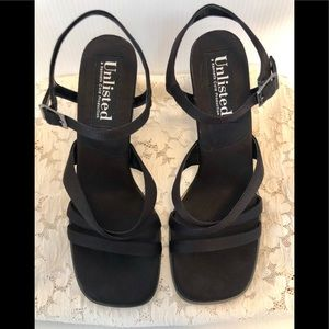 Unlisted-Kenneth Cole Prod.  Blank strapped heels